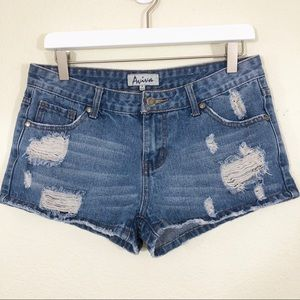 Aviva jean shorts size 9
